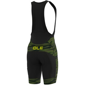 Alé Cycling Graphics PRR Rock Culotte Tirantes Hombre, green/fluo yellow